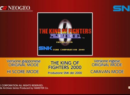 ACA NEOGEO THE KING OF FIGHTERS 2000: uno sguardo in video al titolo da Nintendo Switch europei
