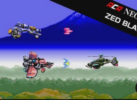 ACA NEOGEO ZED BLADE: il titolo in arrivo il 31 agosto sui Nintendo Switch europei