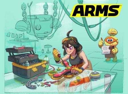 ARMS: il nuovo aggiornamento del titolo è in arrivo domani su Nintendo Switch