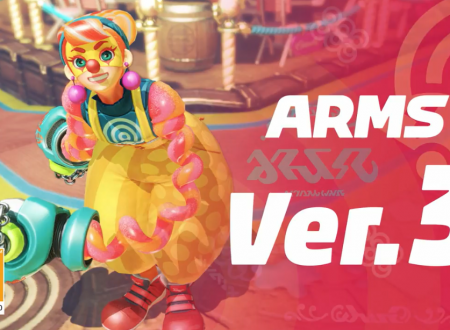ARMS: pubblicato un video gameplay off-screen con Lola Pop, la nuova lottatrice