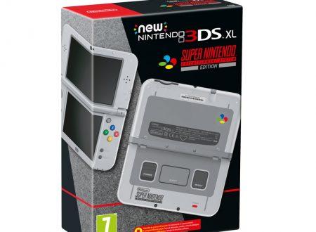 Annunciato il New Nintendo 3DS XL – SNES Edition, in arrivo il prossimo 13 ottobre in Europa