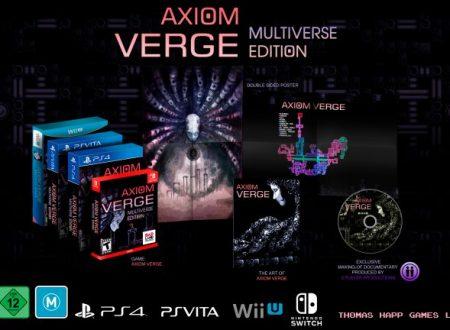 Axiom Verge: Multiverse Edition, il titolo confermato per l'arrivo il 17 ottobre sui Nintendo Switch europei
