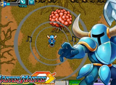 Blaster Master Zero: primo sguardo al DLC di Shovel Knight, nella EX Character Mode del gioco