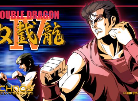 Double Dragon IV: il titolo in arrivo il prossimo 7 settembre su Nintendo Switch