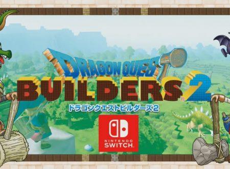 Dragon Quest Builders 2: il titolo annunciato e in arrivo su Nintendo Switch