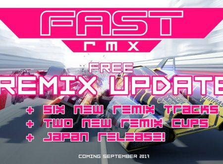 FAST RMX: annunciato l'update Remix, in arrivo a settembre su Nintendo Switch
