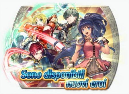 Fire Emblem Heroes: i nuovi eroi di Sacred Stones e la mappa appendice Mondo di Sacred ora disponibile