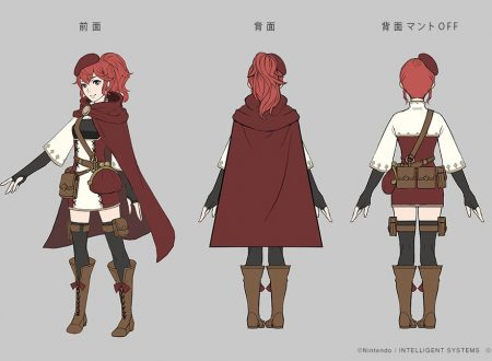 Fire Emblem Warriors: mostrate delle immagini concept art di Marth e Anna