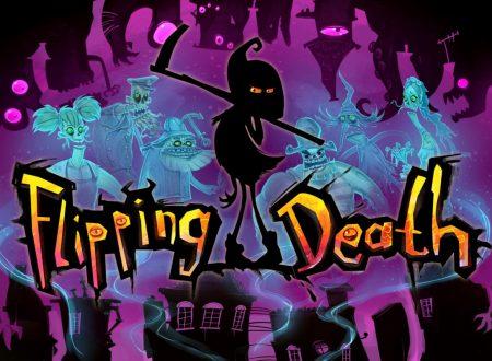 Flipping Death: il titolo è il 7 agosto sull'eShop europeo di Nintendo Switch