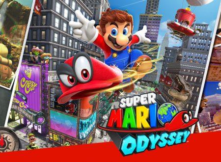 Super Mario Odyssey: svelata l'icona presente nella home di Nintendo Switch