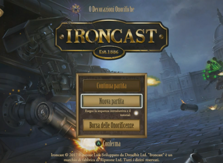 Ironcast: primo sguardo in video gameplay dai Nintendo Switch europei