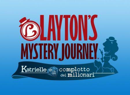 LAYTON'S MYSTERY JOURNEY: Katrielle e il complotto dei milionari, in arrivo il 6 ottobre sui 3DS europei
