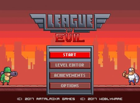 League of Evil: i primi 25 minuti di video gameplay del titolo su Nintendo Switch