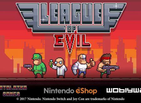 League of Evil: titolo in arrivo il 31 agosto sui Nintendo Switch europei, trailer di lancio disponibile
