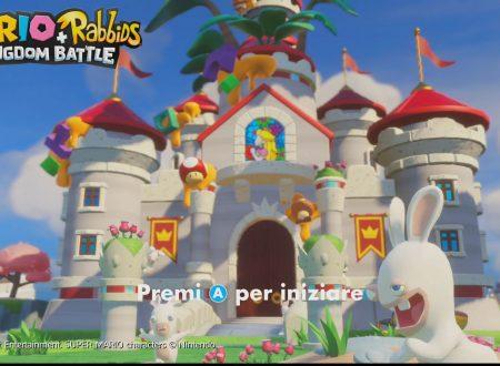 Mario + Rabbids Kingdom Battle: la nostra prima ora di gioco sul titolo per Nintendo Switch
