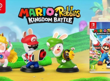 Mario + Rabbids Kingdom Battle: il titolo e le figure dei Rabbids, ora in preorder su Nintendo UK Store