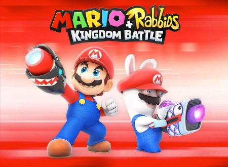 Mario + Rabbids Kingdom Battle: il titolo mostrato nel livestreaming di Nintendo al Gamescom 2017