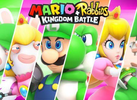 Mario + Rabbids Kingdom Battle: annunciato il Season Pass, contenuti DLC e nuova storia nel 2018