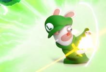 Mario + Rabbids Kingdom Battle: pubblicato un nuovo trailer dedicato a Rabbid Luigi