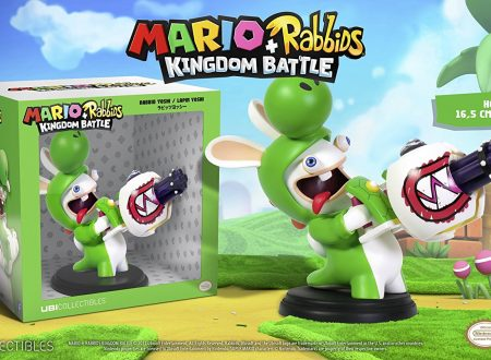 Mario + Rabbids Kingdom Battle: pubblicato un video unboxing delle figure di Rabbids Yoshi e Rabbids Peach