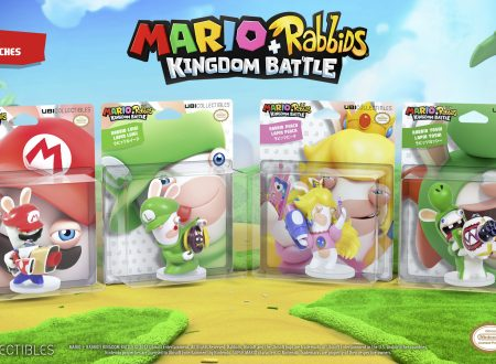 Mario + Rabbids Kingdom Battle: video unboxing di tutte le figure di Rabbids del titolo