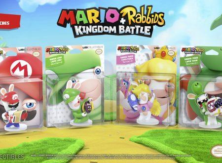 Mario + Rabbids Kingdom Battle: video unboxing di tutte le figure di Rabbids del titolo