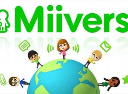 Miiverse: Nintendo annuncia la data di chiusura del social di Wii U e Nintendo 3DS