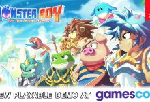 Monster Boy and the Cursed Kingdom: il titolo giocabile per la prima volta su Nintendo Switch al Gamescom 2017