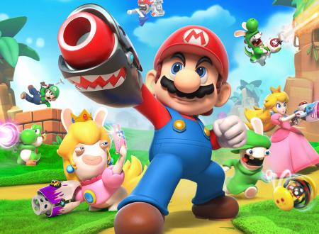 My Nintendo: lo sfondo di Mario + Rabbids Kingdom Battle ora disponibile come premio