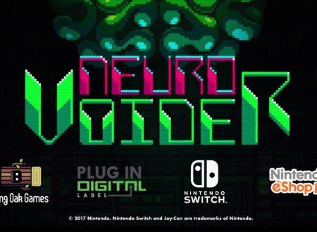 NeuroVoider: il titolo in arrivo il 7 settembre sui Nintendo Switch europei