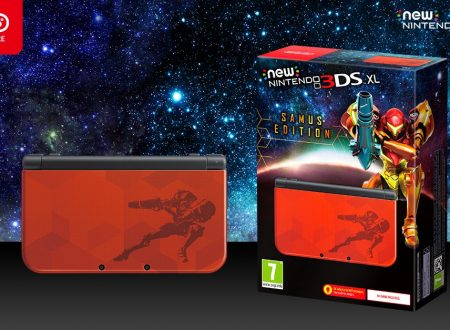 New Nintendo 3DS XL Samus Edition: la console ora in preorder sul Nintendo UK Store