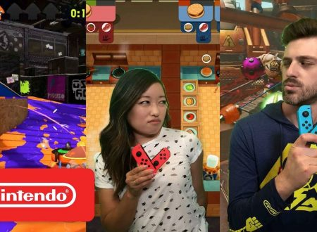 Nintendo Minute: Gaming Gauntlet Challenge su ARMS, Splatoon 2 e Overcooked, in video con Kit & Krysta