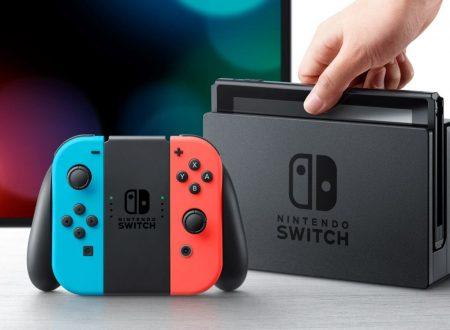Nintendo Switch: aggiornato il firmware della console, ora alla versione 4.1.0