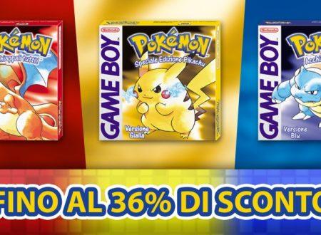 Nintendo eShop: svelata la Promozione classici Pokémon, sconto per Pokémon Giallo, Rosso e Blu