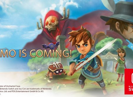 Oceanhorn: Monster of Uncharted Seas, la demo in arrivo il 12 ottobre sui Nintendo Switch europei