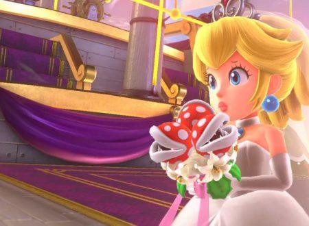 Super Mario Odyssey: nuovo sguardo al vestito da sposa della Principessa Peach
