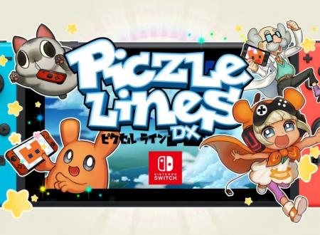 Piczle Lines DX: un nuovo puzzle game in arrivo il 24 agosto sui Nintendo Switch europei