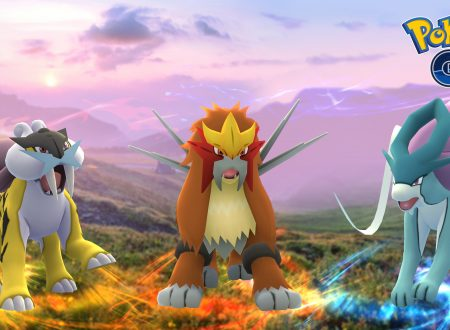 Pokémon GO: presto in arrivo i tre cani leggendari, Suicune, Entei e Raikou