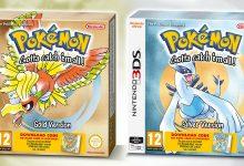 Pokémon Oro e Argento: annunciato le versioni retail in arrivo in Europa su Nintendo 3DS