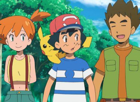 Pokémon Sole e Luna: Il ritorno di Brock e Misty nella serie animata, arrivo della Gara Online Rissa dei Mega