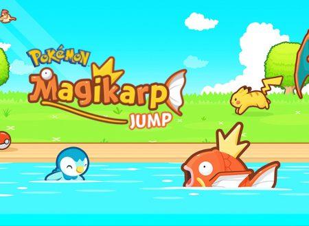 Pokemon: Magikarp Jump, il titolo ora aggiornato alla versione 1.3.6 sui dispositivi Android e iOS