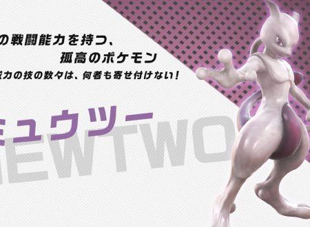 Pokkén Tournament DX: pubblicato un nuovo trailer giapponese su Mewtwo