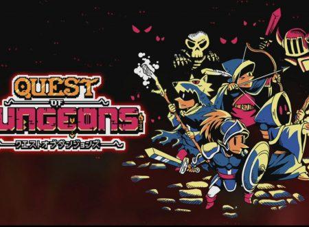 Quest of Dungeons: il titolo presto in arrivo su Nintendo Switch con nuovi contenuti