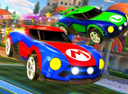 Rocket League: svelate delle macchine esclusive di Mario, Luigi e Samus per la versione Nintendo Switch