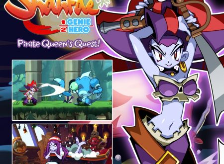 Shantae: Half-Genie Hero, il DLC Pirate Queen's Quest di Risky Boots, in arrivo il prossimo 29 agosto