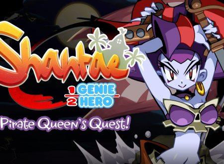 Shantae: Half-Genie Hero, terminato lo sviluppo del DLC Pirate Queen's Quest di Risky Boots