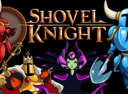 Shovel Knight: il titolo è stato aggiornato alla versione 3.2 su Nintendo 3DS