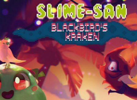 """Slime-san: il DLC """"Blackbird's Kraken"""" verrà inserito in maniera gratuita in futuro su Nintendo Switch"""