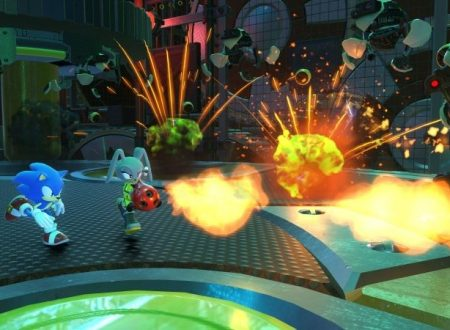 Sonic Forces: altri video gameplay mostrano i livelli in Tag Team tra Sonic e l'avatar personalizzabile