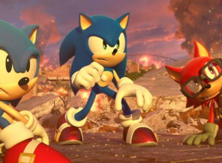 Sonic Forces: il titolo in arrivo il 9 novembre sui Nintendo Switch giapponesi, nuovi dettagli sul gioco